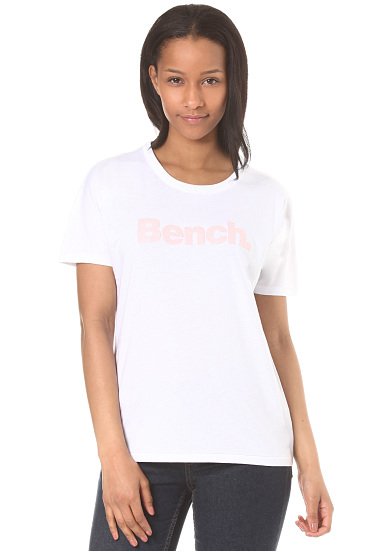 BENCH Grown On Sleeve Corp Print - Camiseta de tirantes para Mujeres - Blanco