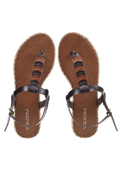 Volcom Trails - Sandals for Women - Brown