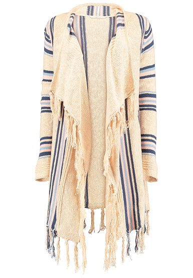 ONeill Kniitted Cover Up - Cárdigan para Mujeres - Beige