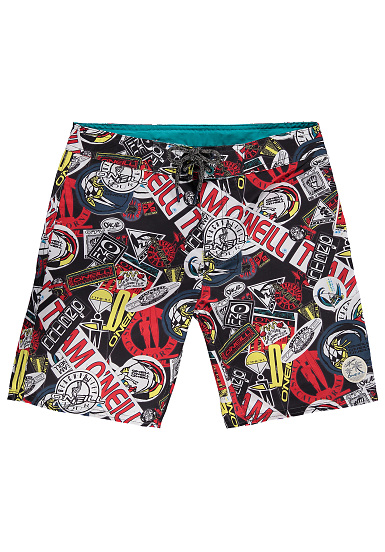 O'Neill Throw It Back Boardshorts für Jungs Schwarz
