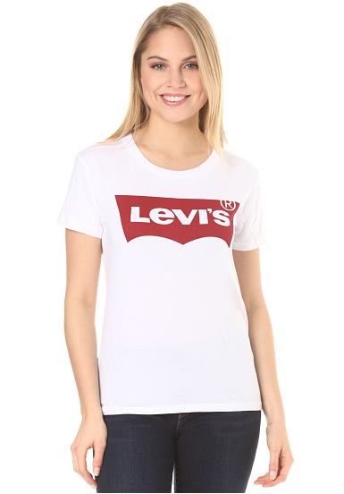 Levi S The Perfect T Shirt For Women White Planet Sports