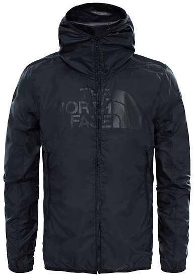 THE NORTH FACE Drew Peak Windwall - Chubasquero para Hombres - Negro