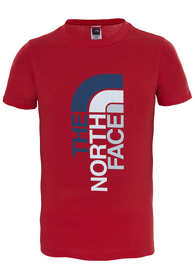 ca31ec56b57 THE NORTH FACE Ascent - T-Shirt for Kids Boys - Red - Planet Sports