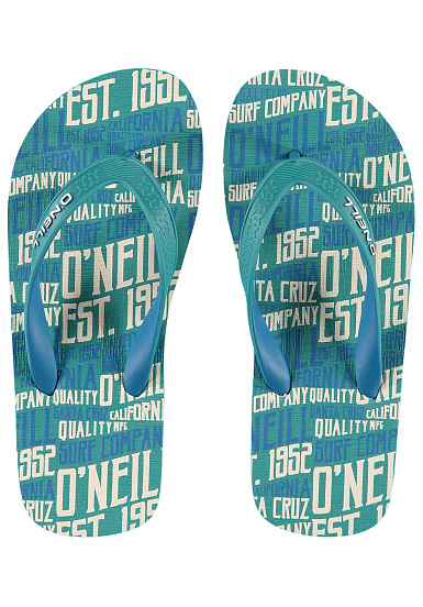 O'Neill Profile Pattern - Sandals for Kids Boys - Green