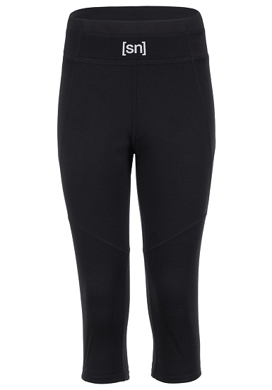 SUPER.NATURAL Essential 3/4 Tight - Mallas para Mujeres - Negro