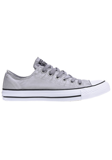 converse chuck taylor all star ox baskets pour femme gris planet sports. Black Bedroom Furniture Sets. Home Design Ideas