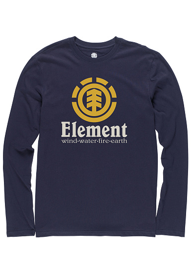 Element Vertical - Camiseta de manga larga para Hombres - Azul