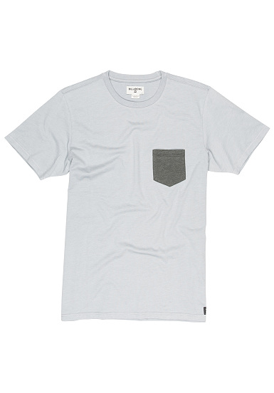 BILLABONG Allday Pocket - Camiseta para Hombres - Gris