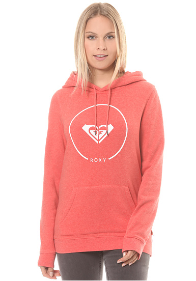 Roxy After Surf Fleece - Jersey de capucha para Mujeres - Rosa