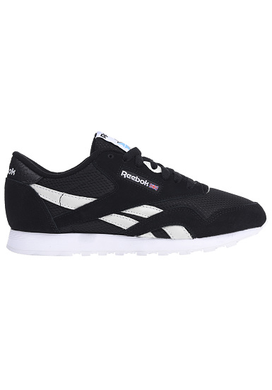 Reebok Classic Nylon FBT - Sneakers for Women - Black - Planet Sports 183fa7b41de0