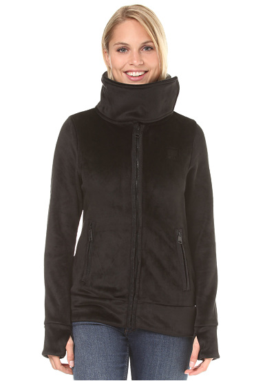 BENCH Her. Fleece Funnel  Chándal para Mujeres  Negro