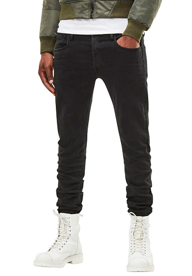 G-STAR 3301 Deconstructed Slim-Hino Stretch - Vaqueros para Hombres - Azul