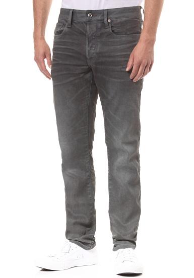 G STAR 3301 Slim Loomer Grey R Stretch Jean pour Homme Gris