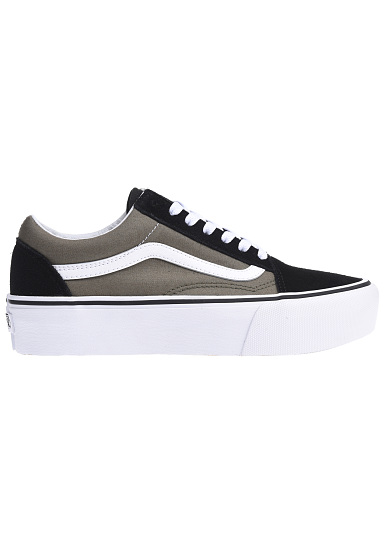 vans old skool platform baskets pour femme noir planet sports. Black Bedroom Furniture Sets. Home Design Ideas