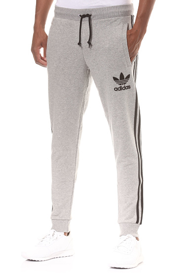 bas survetement gris homme adidas