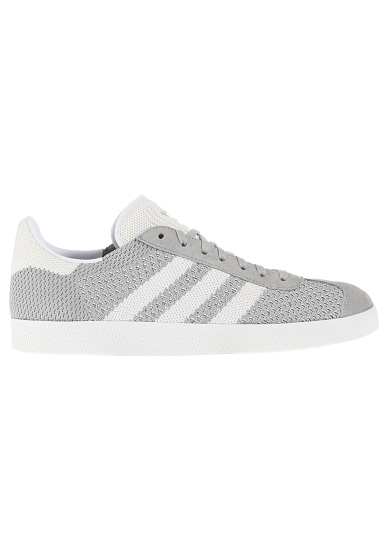 ADIDAS ORIGINALS Gazelle Primeknit Baskets Gris