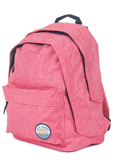 Rip Curl Solid Double Dome - Mochila para Mujeres - Rosa