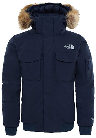 7afa6bafd1 THE NORTH FACE Gotham - Outdoor Jacket for Men - Blue - Planet Sports