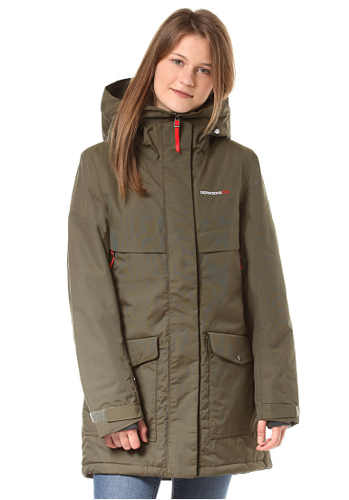 Didriksons Frida Parka - Jacket for Women - Green - Planet Sports