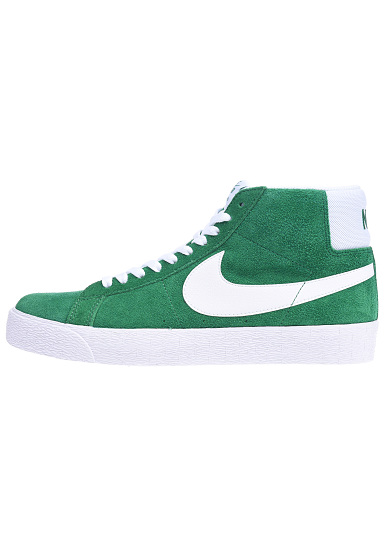 sneakers for cheap 6e0c8 1880f NIKE SB Zoom Blazer Mid - Sneakers for Men - Green - Planet Sports