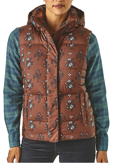 4d04fc6657 PATAGONIA Down With It - Gilet per Donna - Marrone