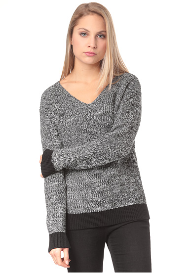 BENCH Mouline Jumper  Jersey para Mujeres  Gris