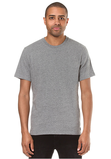 Element Basic Crew - Camiseta para Hombres - Gris