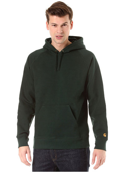 Carhartt WIP Chase Sweat à capuche pour Homme Vert