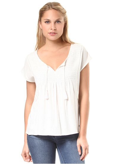 Roxy Electric Fling - Blusa para Mujeres - Blanco