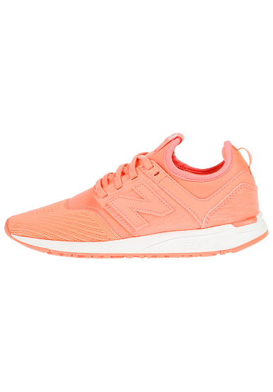 basket new balance femme orange