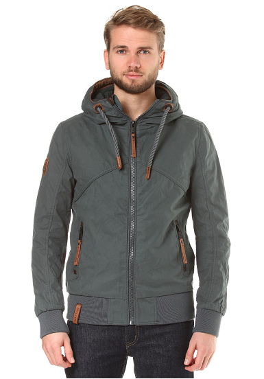NAKETANO Pimmels In Space Functional Jacket for Men Brown