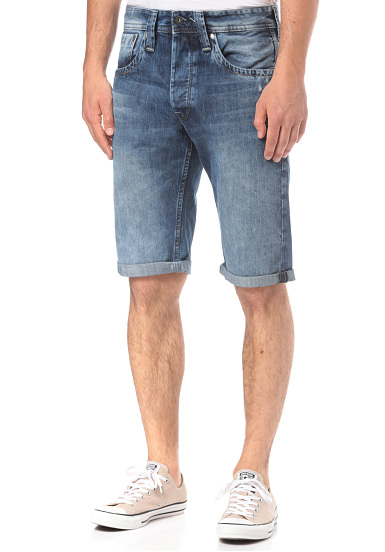 Short Pour Homme Jeans Sports Bleu Planet Cash Pepe pwqUE6xPf
