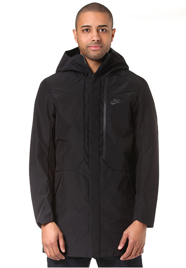 NIKE SPORTSWEAR Tech Shield - Jacket for Men - Black - Planet Sports 25b72dcf396e