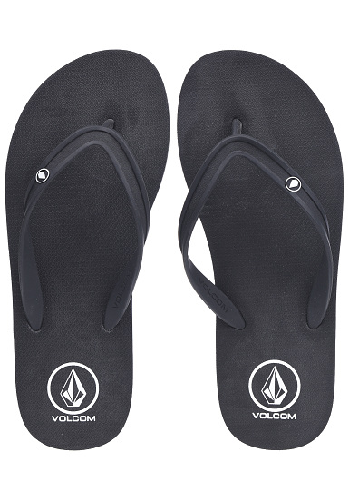 1ffa3763acbb84 Volcom Rocker 2 Solid - Sandals for Men - Black - Planet Sports