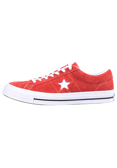 Converse One Star OX - Baskets pour Homme - Rouge