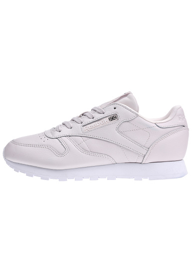 Dames Reebok Sports Classic Sneakers Paars Planet X Face Voor Lthr rrSYqf