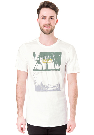 Hurley Alright - Camiseta para Hombres - Blanco