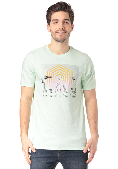 Hurley Cutter Hex - Camiseta para Hombres - Verde