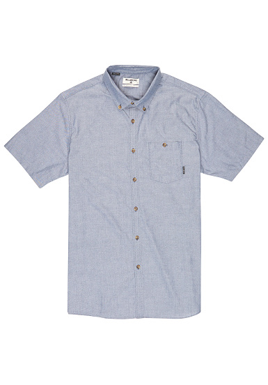 BILLABONG All Day Oxford - Camisa para Hombres - Azul