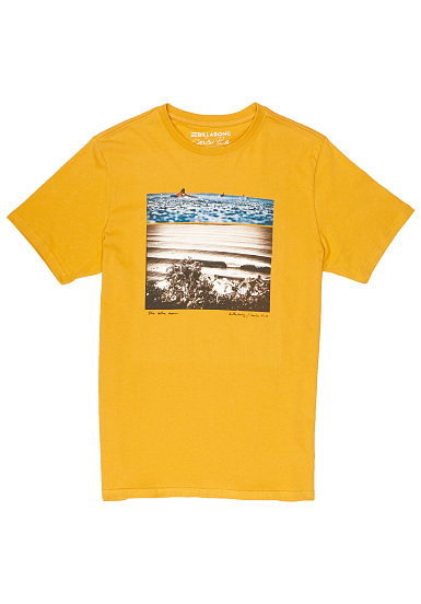 BILLABONG Blue Dream - Camiseta para Hombres - Amarillo