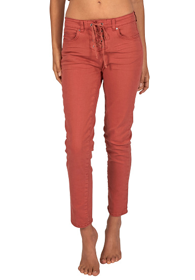 BILLABONG Side By Side - Vaqueros para Mujeres - Rojo