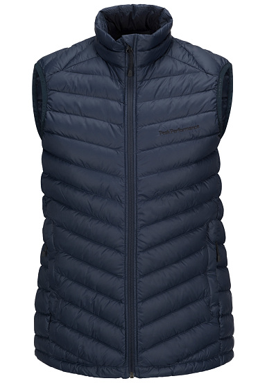 PEAK PERFORMANCE Frost Down - Chaleco para Hombres - Azul
