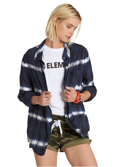 Element Shades - Camisa para Mujeres - Azul