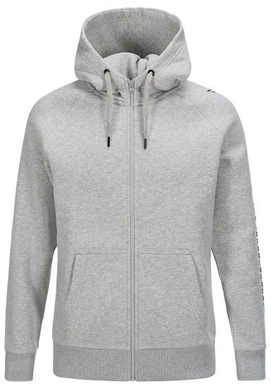 PEAK PERFORMANCE Sweat Zip - Chaqueta con capucha para Hombres - Gris