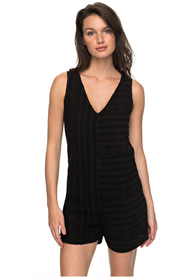 Roxy By My Side - Mono para Mujeres - Negro