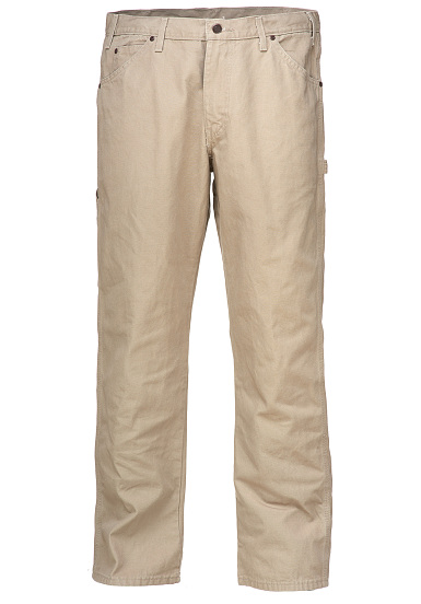 Dickies Relaxed Fit Duck - Vaqueros para Hombres - Beige