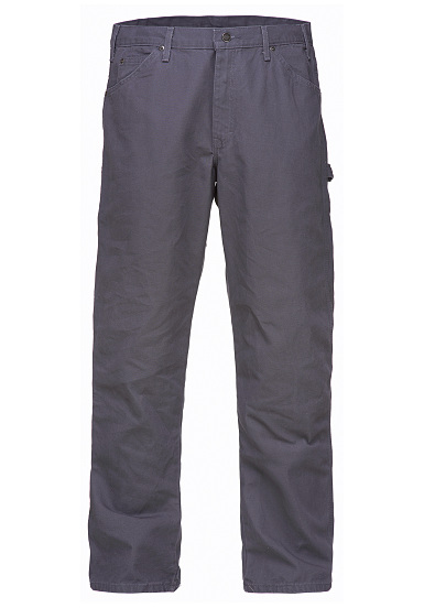 Dickies Relaxed Fit Duck - Vaqueros para Hombres - Gris