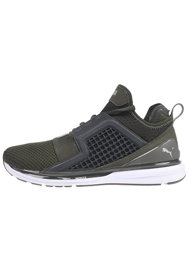 0203ae7631 Puma Ignite Limitless Weave - Baskets pour Homme - Vert - Planet Sports