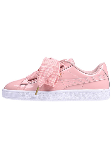 Baskets Heart Basket Pour Femme Patent Puma Rose mNnw80Ov