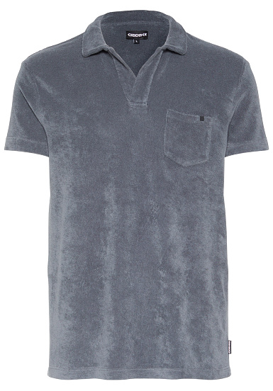 Chiemsee Poloshirt Frottee - Polo para Hombres - Gris